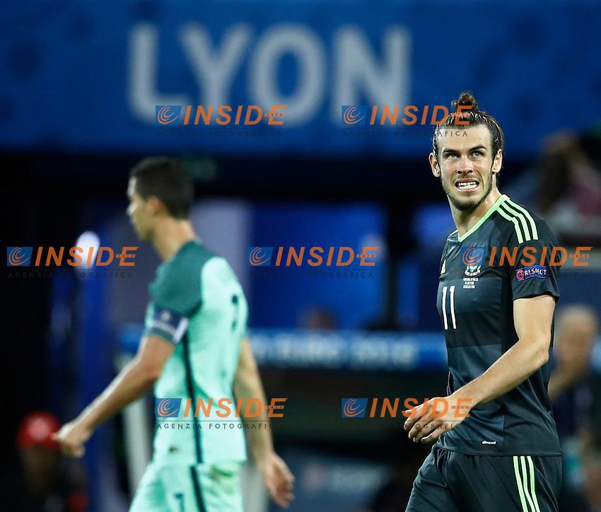 Delusione Gareth Bale (gal) dejection<br /> Lyon 06-07-2016 Stade de Lyon Football Euro2016 Portugal - Wales / Portogallo - Galles Semi-finals / Semifinali <br /> Foto Matteo Ciambelli / Insidefoto