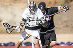 San Diego, CA 05/25/13 - Calen Ketcham (Westview #20) and David Manning (Carlsbad #9) in action during the 2013 Boys Lacrosse San Diego CIF DIvision 1 Championship game.  Westview defeated Carlsbad 8-3.