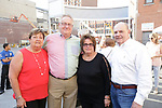 Waterbury, CT- 19 May 2017-051917CM13- SOCIAL MOMENTS-- From left, Meg and Paul Vance of Waterbury with and Sue and Joe McGrath, City of Waterbury economic development director are photographed  during the Palace Theater's Palace 10.2: City Lights, City Nights celebration.  Christopher Massa Republican-American