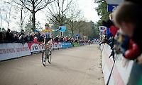 Ellen Van Loy (BEL/Telenet-Fidea) finishes 2nd and wins the bpost bank trophy overall classification<br /> <br /> Elite Women's Race<br /> Krawatencross <br /> bpost bank trofee 2015