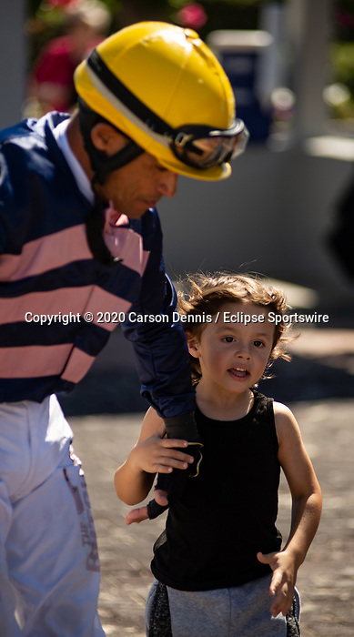 March 7, 2020: Scenes from Tampa Bay Derby Day on March 7, 2020 in Tampa, FL. (Photo by Carson Dennis/Eclipse Sportswire/CSM)