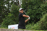 Joakim Lagergren (SWE) on the 3rd tee during Round 3 of the UBS Hong Kong Open, at Hong Kong golf club, Fanling, Hong Kong. 25/11/2017<br /> Picture: Golffile | Thos Caffrey<br /> <br /> <br /> All photo usage must carry mandatory copyright credit     (&copy; Golffile | Thos Caffrey)