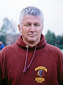 Washington Redskins special teams coach Wayne Sevier at Redskins Park in Herndon, Virginia on September 1, 1986.<br /> Credit: Arnie Sachs / CNP