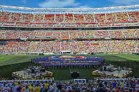 Santa Clara, CA - Friday June 03, 2016: Pre-game ceremonies prior to the start of a Copa America Centenario Group A match between United States (USA) and Colombia (COL) at Levi's Stadium.