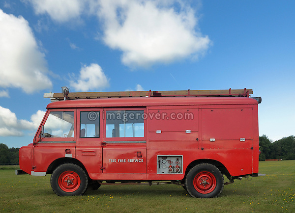 Series 2a Forward Control Fire Eingine. Dunsfold Collection Open Day 2009. NO RELEASES AVAILABLE.