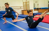 Tania Cagnotto e Francesca Dallape <br /> Bolzano 5-12-2018 <br /> Tania Cagnotto riprende gli allenamenti dopo il ritiro del 2017 <br /> Photo Pasquale Mesiano/ Deepbluemedia /Insidefoto