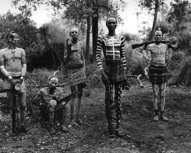 Karo tribe, Omo Valley, southern Ethiopia, 2003-2004