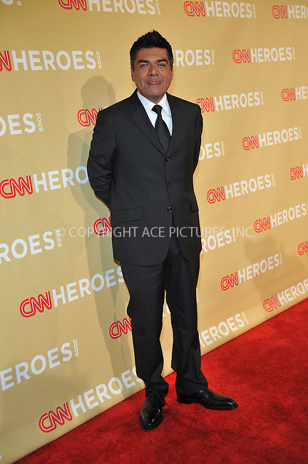 WWW.ACEPIXS.COM . . . . . ....November 21 2009, New York City....Comedian George Lopez arriving at the 2009 CNN Heroes Awards at the Kodak Theatre on November 21, 2009 in Hollywood, California. ....Please byline: JOE WEST- ACEPIXS.COM.. . . . . . ..Ace Pictures, Inc:  ..(646) 769 0430..e-mail: info@acepixs.com..web: http://www.acepixs.com