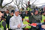 Motorsport: DTM Vorstellung  2008 Duesseldorf<br /> <br /> Ralf Schumacher wurde  auf der Koe in Duesseldorf bei der DTM Vorstellung von der Presse umlagert.<br /> <br /> Foto &copy; nph (nordphoto)<br /> <br /> <br /> <br /> <br />  *** Local Caption ***
