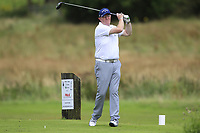 Brian Haveron (Cairndhu) during the final of the AIG Jimmy Bruen Ulster Final at Dungannon Golf Club, Dungannon, Tyrone, Ireland. 11/08/2017<br /> Picture: Fran Caffrey / Golffile
