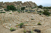 Rock art. Joshua Tree National Park, California