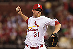 June 18, 2010       St. Louis Cardinals relief pitcher Ryan Franklin (31) throws late in the game.  The St. Louis Cardinals defeated the Oakland Athletics 6-4 in the first game of a three-game homestand at Busch Stadium in downtown St. Louis, MO on Friday June 18, 2010.