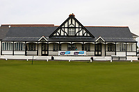 The Clubhouse during practice day for the Flogas Irish Amateur Open Championship 2019 at the Co.Sligo Golf Club, Rosses Point, Sligo, Ireland. 15/05/19<br /> <br /> Picture: Thos Caffrey / Golffile<br /> <br /> All photos usage must carry mandatory copyright credit (© Golffile | Thos Caffrey)