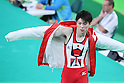 Kohei Uchimura (JPN), <br /> AUGUST 3, 2016 - Artistic Gymnastics : <br /> Men's Official Training <br /> Parallel Bars <br /> at Rio Olympic Arena <br /> during the Rio 2016 Olympic Games in Rio de Janeiro, Brazil. <br /> (Photo by YUTAKA/AFLO SPORT)