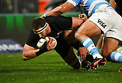 9th September 2017, Yarrow Stadium, New Plymouth. New Zealand; Supersport Rugby Championship, New Zealand versus Argentina; All Blacks captain Kieran Read