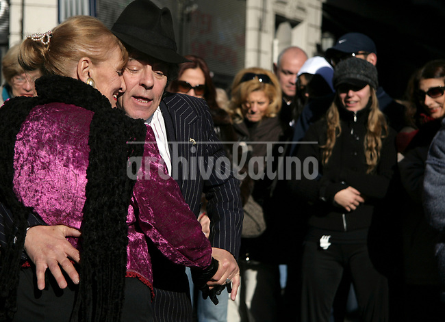 Street tango in San Telmo square, one of the more interesting historical areas of Buenos Aires.