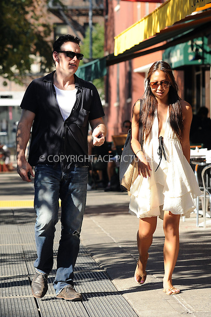 WWW.ACEPIXS.COM . . . . . ....July 3 2010, New York City....Actor Matt Dillon walking with a friend in the West Village on July 3 2010 in New York City....Please byline: KRISTIN CALLAHAN - ACEPIXS.COM.. . . . . . ..Ace Pictures, Inc:  ..tel: (212) 243 8787 or (646) 769 0430..e-mail: info@acepixs.com..web: http://www.acepixs.com