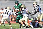 Torrance, CA 10/06/11 - Michael Ishibashi (Peninsula #59) in action during the Peninsula vs South Torrance Frosh football game.