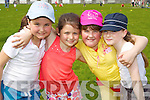 Pictured taking part in Blennerville N.S. Sports Day on Friday, from left: Natasha Tobin, Tia Kelly, Julie Foley and Carmen Hannafin..