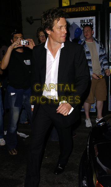 HUGH GRANT.At The Sir John Betjeman Gala,.Prince Of Wales Theatre, Coventry Street, London, .September 10th 2006..half length 3/4 white shirt black suit jacket.Ref: CAN.www.capitalpictures.com.sales@capitalpictures.com.©Can Nguyen/Capital Pictures