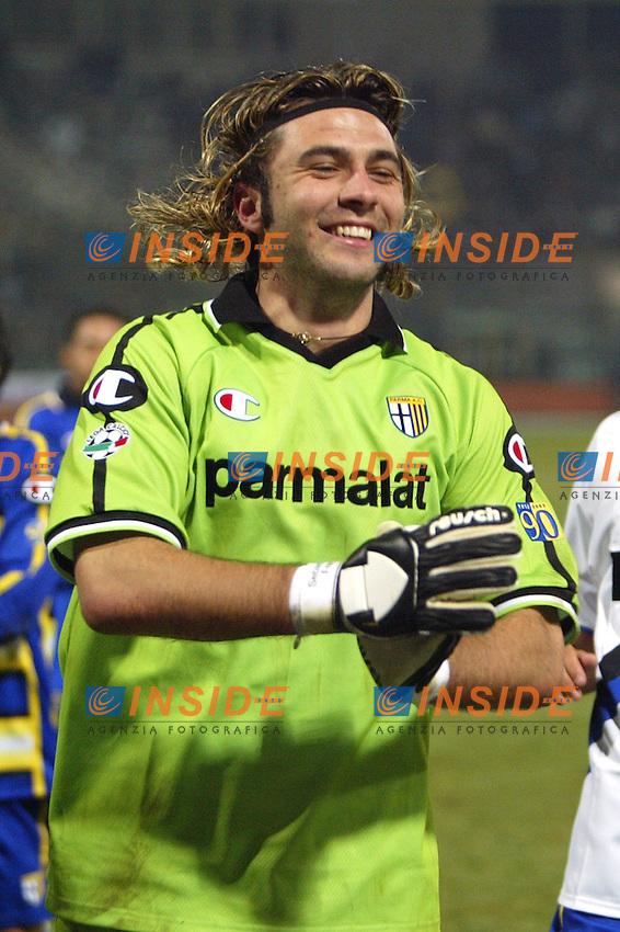 Parma 10/1/2004<br /> Parma Inter 1-0<br /> Sebastian Frey (Parma)<br /> Photo Andrea Staccioli Insidefoto