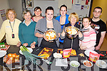 SMELLS GOOD: Some of the participants in a taster cookery class at the Listowel Family Resource Centre this week, l-r: Marie Hegarty, Bridie Keane, Jackie Landers (Listowel FRC), Donna Murphy, Shauna Murphy, Helen Ryan, Stacey Galvin, Danny Enright.