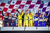 #4 ARC BRATISLAVA (SVK) LIGIER JS P2 NISSAN LMP2 MIRO KONOPKA (SVK) KANG LING (CHN) DARREN BURKE (GBR) WINNER LMP2 AM <br /> #23 UNITED AUTOSPORTS (GBR) LIGIER JS P2 NISSAN LMP2 GUY COSMO (USA) PATRICK BYRNE (USA) SALIH YOLUC (BRA) SECOND LMP2 AM <br /> #25 ALGARVE PRO RACING (POR) LIGIER JS P2 JUDD LMP2 MARK PATTERSON (USA) ANDERS FJORDBACH (DEN) CHRISTOPHER MCMURRY (USA) THIRD LMP2 AM