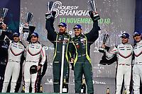 #97 ASTON MARTIN RACING (GBR) ASTON MARTIN VANTAGE AMR GTE PRO ALEXANDER LYNN (GBR) MAXIME MARTIN (BEL) WINNER LMGTE PRO<br /> #91 PORSCHE GT TEAM (DEU) PORSCHE 911 RSR GTE PRO RICHARD LIETZ (AUT) GIANMARIA BRUNI (ITA) SECOND LMGTE PRO<br /> #92 PORSCHE GT TEAM (DEU) PORSCHE 911 RSR GTE PRO MICHAEL CHRISTENSEN (DNK) KEVIN ESTRE (FRA) THIRD LMGTE PRO