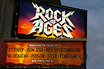 Poster - Bold and the Beautiful Constantine Maroulis stars in Rock of Ages on Broadway & invites Days John Aniston and CBS News Anchor Alexis Christopher and husband to see the musical (which opens Tuesday) on April 4, 2009 at the Brooks Atkinson Theatre, NYC. (Photo by Sue Coflin/Max Photos)