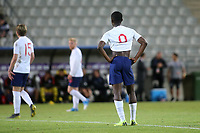 Eddie Nketiah of England shows his disappointment during Chile Under-21 vs England Under-20, Tournoi Maurice Revello Football at Stade Parsemain on 7th June 2019