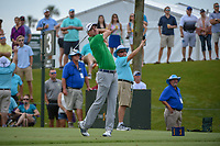 Martin Laird (SCO) watches his tee shot on 3 during round 3 of The Players Championship, TPC Sawgrass, at Ponte Vedra, Florida, USA. 5/12/2018.<br /> Picture: Golffile | Ken Murray<br /> <br /> <br /> All photo usage must carry mandatory copyright credit (&copy; Golffile | Ken Murray)