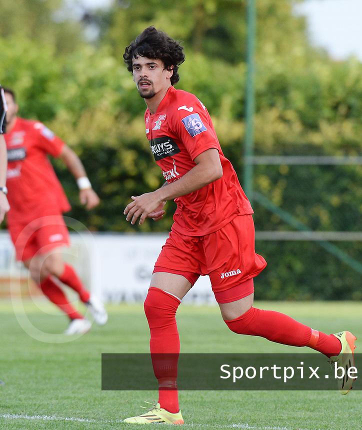 KV Oostende : Fernando Canesin <br /> foto VDB / BART VANDENBROUCKE