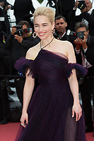 CANNES, FRANCE - MAY 15: Emilia Clarke attends the screening of 'Solo: A Star Wars Story' during the 71st annual Cannes Film Festival at Palais des Festivals on May 15, 2018 in Cannes, France.<br /> CAP/KA<br /> &copy;Kristina Afanasyeva/Capital Pictures
