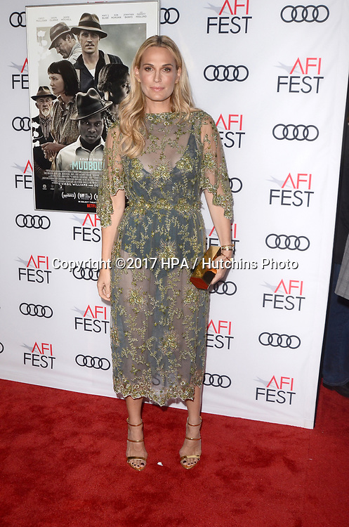 "LOS ANGELES - NOV 9:  Molly Sims at the ""Mudbound"" Opening Gala of AFI Fest 2017 at the TCL Chinese Theater IMAX on November 9, 2017 in Los Angeles, CA"