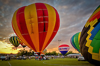 Arkansas Hot Air Balloon State Championship is held in Harrison Arkansas in September each year and features a Hot Air Balloon Glow and Balloon Race Competitions.