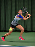 March 15, 2015, Netherlands, Rotterdam, TC Victoria, NOJK, Roos van Reek (NED)<br /> Photo: Tennisimages/Henk Koster