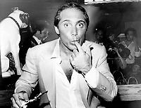 Paul Anka: A bash for birthday 38,  1979<br /> <br /> PHOTO : Griffin, Doug