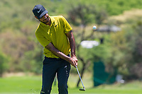 Shubhankar Sharma (IND) during the 2nd round at the Nedbank Golf Challenge hosted by Gary Player,  Gary Player country Club, Sun City, Rustenburg, South Africa. 15/11/2019 <br /> Picture: Golffile | Tyrone Winfield<br /> <br /> <br /> All photo usage must carry mandatory copyright credit (© Golffile | Tyrone Winfield)