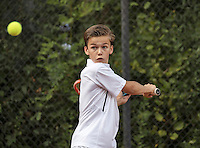 Hilversum, Netherlands, August 8, 2016, National Junior Championships, NJK, Stian Klaassen (NED)<br /> Photo: Tennisimages/Henk Koster