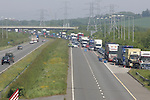 Traffic CHaos M1 Motorway