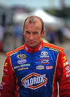 Aug. 8, 2009; Watkins Glen, NY, USA; NASCAR Sprint Cup Series driver Marcos Ambrose during practice for the Heluva Good at the Glen. Mandatory Credit: Mark J. Rebilas-