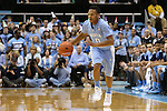 31 December 2013: North Carolina's Nate Britt. The University of North Carolina Tar Heels played the UNC Wilmington Seahawks at the Dean E. Smith Center in Chapel Hill, North Carolina in a 2013-14 NCAA Division I Men's Basketball game. UNC won the game 84-51.