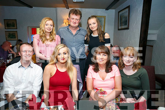 Mairead O'Connell, Kielduff, Tralee celebrating her 21st Birthday with family at Cassiddy's on Saturday Pictured Stuart Nolan, Mairead O'Connell, Caroline O'Connell, Róisín O'Connell  Back l-r Maeve O'Connell, Maurice O'Connell and Aisling O'Connell