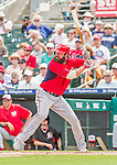 10 March 2015: Washington Nationals third baseman Ian Stewart in Spring Training action against the Miami Marlins at Roger Dean Stadium in Jupiter, Florida. The Marlins edged out the Nationals 2-1 on a walk-off solo home run in the 9th inning of Grapefruit League play. Mandatory Credit: Ed Wolfstein Photo *** RAW (NEF) Image File Available ***
