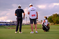 Rory McIlroy (NIR) on the 18th fairway during the 1st round of the DP World Tour Championship, Jumeirah Golf Estates, Dubai, United Arab Emirates. 21/11/2019<br /> Picture: Golffile | Fran Caffrey<br /> <br /> <br /> All photo usage must carry mandatory copyright credit (© Golffile | Fran Caffrey)