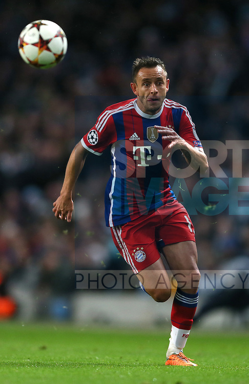 Rafinha of Bayern Munich - UEFA Champions League group E - Manchester City vs Bayern Munich - Etihad Stadium - Manchester - England - 25rd November 2014  - Picture Simon Bellis/Sportimage