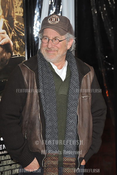 "Executive producer Steven Spielberg at the premiere of his new HBO miniseries ""The Pacific"" at Grauman's Chinese Theatre, Hollywood..February 24, 2010  Los Angeles, CA.Picture: Paul Smith / Featureflash"