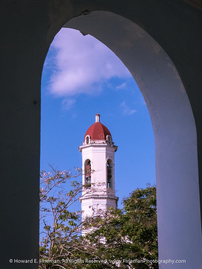 Cienfuegos church steeple