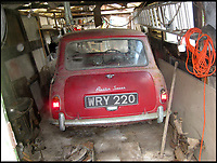 One of the first Mini's sells for £20,000.