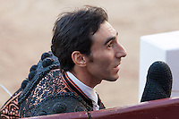 Fernando Cruz during the Bullfight Virgen de la Paloma festivity